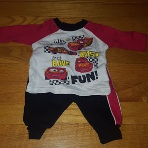 Baby boys Disney Cars outfit